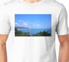 Buddha statue, Hainan Island, China Unisex T-Shirt