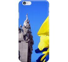 Gorodetsky House With Flags, Kyiv (Kiev) iPhone Case/Skin