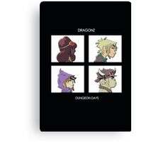 Dragonz - Dungeon Days Canvas Print
