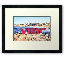 SCULPTURES BY THE SEA BONDI BEACH #11 Framed Print