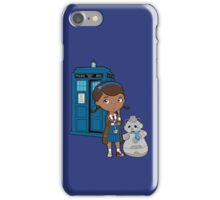 Doc McWhoffins iPhone Case/Skin