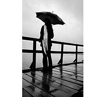 Rainy again Photographic Print
