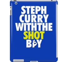 Steph Curry With The Shot Boy iPad Case/Skin