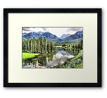 Icefields Parkway North of Banff Framed Print