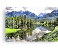Icefields Parkway North of Banff Canvas Print