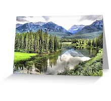 Icefields Parkway North of Banff Greeting Card