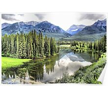 Icefields Parkway North of Banff Poster