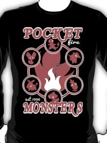 Pocket Monsters - Fire T-Shirt