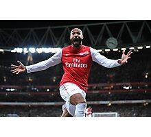 Thierry Henry vs Leeds t shirt Photographic Print