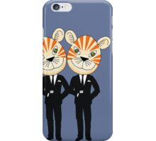 Tiger Twins are there for you iPhone Case/Skin