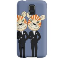 Tiger Twins are there for you Samsung Galaxy Case/Skin