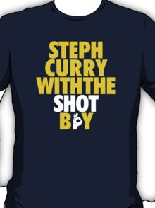 Steph Curry With The Shot Boy [Yellow/Gold] T-Shirt