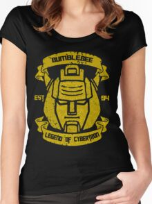 Legend Of Cybertron - Bumblebee Women's Fitted Scoop T-Shirt