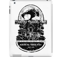Thundera Training Camp (white) iPad Case/Skin