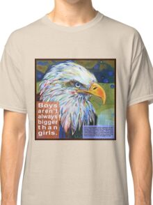 Queen of the sky (Bald eagle) Classic T-Shirt
