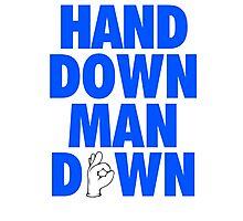 Hand Down, Man Down - Mark Jackson Photographic Print