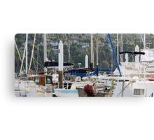 Seaport Marina - Launceston, Tasmania Canvas Print