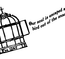 PSALMS  124:7 Our soul is escaped by Calgacus