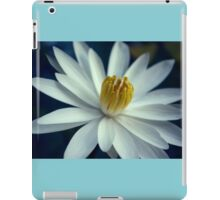 Luminous White Night Bloomer iPad Case/Skin