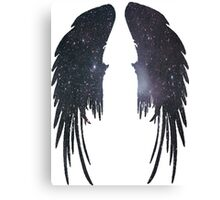 Angel Plain Galaxy Wings Canvas Print