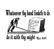 ECCLESIASTES 9:10  JUST DO IT by Calgacus