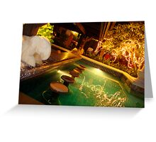 Karon Beach Resort Bar Greeting Card