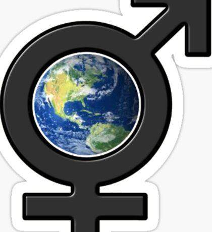 all earth Sticker
