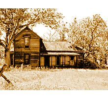 Old Haunted House  Photographic Print
