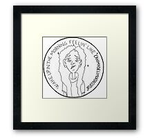 GAIA - I'm not a morning person Framed Print