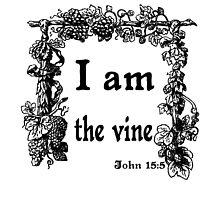 JOHN 15:5   I AM THE VINE by Calgacus