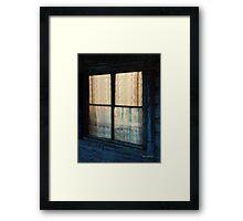 Prairie Lace Framed Print