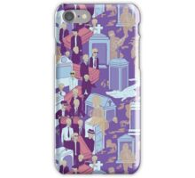 New Orleans Jazz Funeral  iPhone Case/Skin