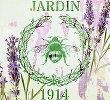 french shabby chic lavender vintage bee by lfang77