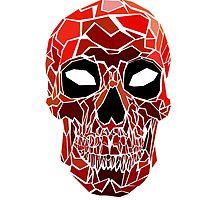 Deadpool Skull by millermindspace
