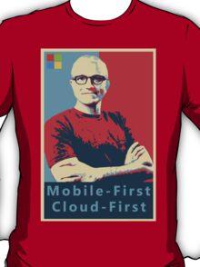 Satya Mobile First Cloud First Street Poster T-Shirt