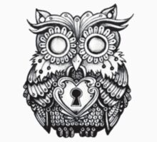 Vintage Owl by JeanMich3