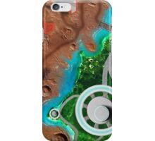 Alien World Space Battle Play Area iPhone Case/Skin