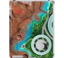 Alien World Space Battle Play Area iPad Case/Skin