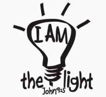 JOHN 9:5  I AM THE LIGHT Kids Tee