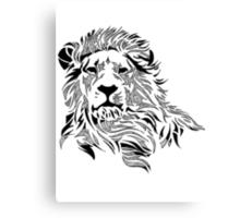 Vintage Pattern Lion Canvas Print