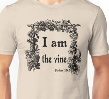 JOHN 15:5   I AM THE VINE Unisex T-Shirt