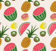 Vintage Pattern by JeanMich3