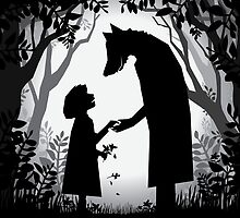 Meeting the Wolf by Kendra Shedenhelm