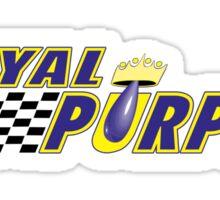 Royal Purple Oil Sticker