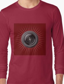 Camera lens Long Sleeve T-Shirt
