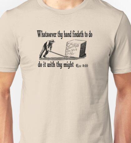 ECCLESIASTES 9:10  JUST DO IT Unisex T-Shirt