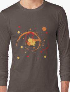 Colorful Brush Strokes Long Sleeve T-Shirt