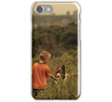 Dog and His Boy iPhone Case/Skin