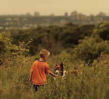 Dog and His Boy by ErinCrossman