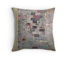 Tower Ten Soldier Thoughts Throw Pillow